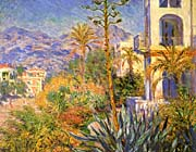 Claude Monet Villas at Bordighera