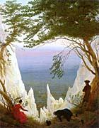Caspar David Friedrich Chalk Cliffs on Rugen