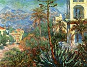 Claude Monet The Villas at Bordighera