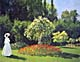 Claude Monet Prints Woman Jeanne Marguerite Lecadre in the Garden