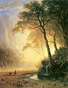 Albert Bierstadt Hetch Hetchy Canyon canvas prints
