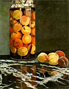Claude Monet Jar Of Peaches canvas prints