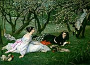 James Tissot Le Printemps