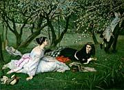 James Tissot Le Printemps canvas prints