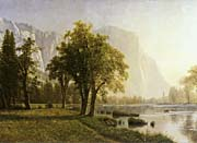 Albert Bierstadt El Capitan Yosemite Valley California canvas prints