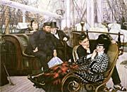 James Tissot The Last Evening canvas prints
