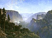Thomas Hill Yosemite Valley canvas prints