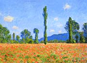 Claude Monet Poppy Field canvas prints