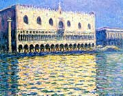 Claude Monet Palazzo Ducale canvas prints