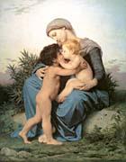 William Bouguereau Fraternal Love canvas prints