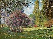 Claude Monet Parc Monceau, Paris