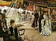 James Tissot The Ball on Shipboard