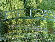 Claude Monet Water Lily Pond Harmony In Green canvas prints