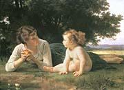 William Bouguereau Temptation
