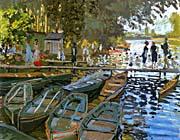 Claude Monet Bathers At La Grenouillere canvas prints
