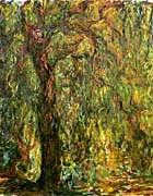 Claude Monet Weeping Willow 1919 Detail canvas prints