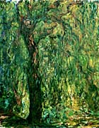 Claude Monet Weeping Willow Detail canvas prints