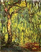 Claude Monet Landscape Weeping Willow canvas prints