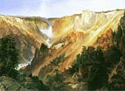 Thomas Moran Lower Falls of the Yellowstone