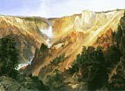 Thomas Moran Lower Falls Of The Yellowstone canvas prints