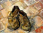 Vincent Van Gogh A Pair Of Old Shoes canvas prints