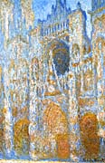 Claude Monet The Portal of Rouen Cathedral at Midday