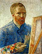 Vincent Van Gogh Self Portrait as an Artist