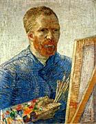 Vincent Van Gogh Self Portrait As An Artist canvas prints