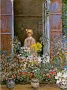 Claude Monet Camille Monet At The Window canvas prints