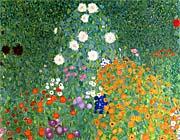 Gustav Klimt Farm Garden (detail)
