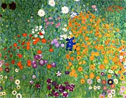Gustav Klimt Farm Garden 1905 6 Detail canvas prints