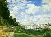 Claude Monet The Basin at Argenteuil
