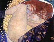 Gustav Klimt Danae (detail)