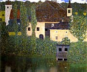 Gustav Klimt Schloss Kammer on the Attersee I