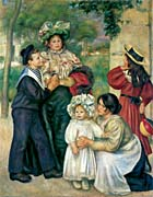 Pierre Auguste Renoir The Artist's Family