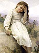 William Bouguereau Little Thief