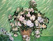Vincent Van Gogh Vase with Pink Roses I