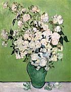 Vincent Van Gogh Vase with Pink Roses II
