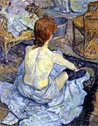 Henri De Toulouse Lautrec Rousse, La Toilette