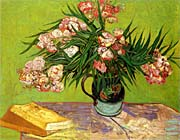 Vincent Van Gogh Majolica Jar with Branches of Oleander