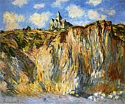 Claude Monet The Church at Varengeville, Morning Effect