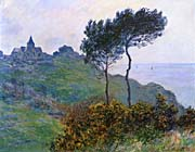 Claude Monet The Church at Varengeville, Grey Weather
