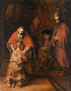Rembrandt Van Rijn Return of the Prodigal Son