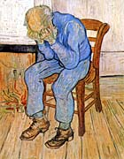 Vincent Van Gogh Old Man In Sorrow canvas prints