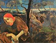Paul Gauguin Christ in the Garden of Olives