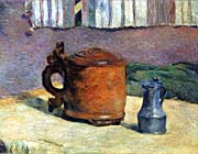 Paul Gauguin Clay Jug and Iron Jug