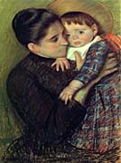 Mary Cassatt Helene De Septeuil canvas prints