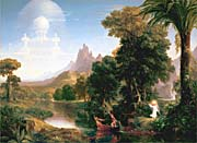 Thomas Cole The Voyage Of Life Youth canvas prints