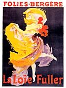 Jules Cheret Folies-Bergere La Loie Fuller