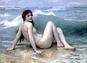 William Bouguereau The Wave